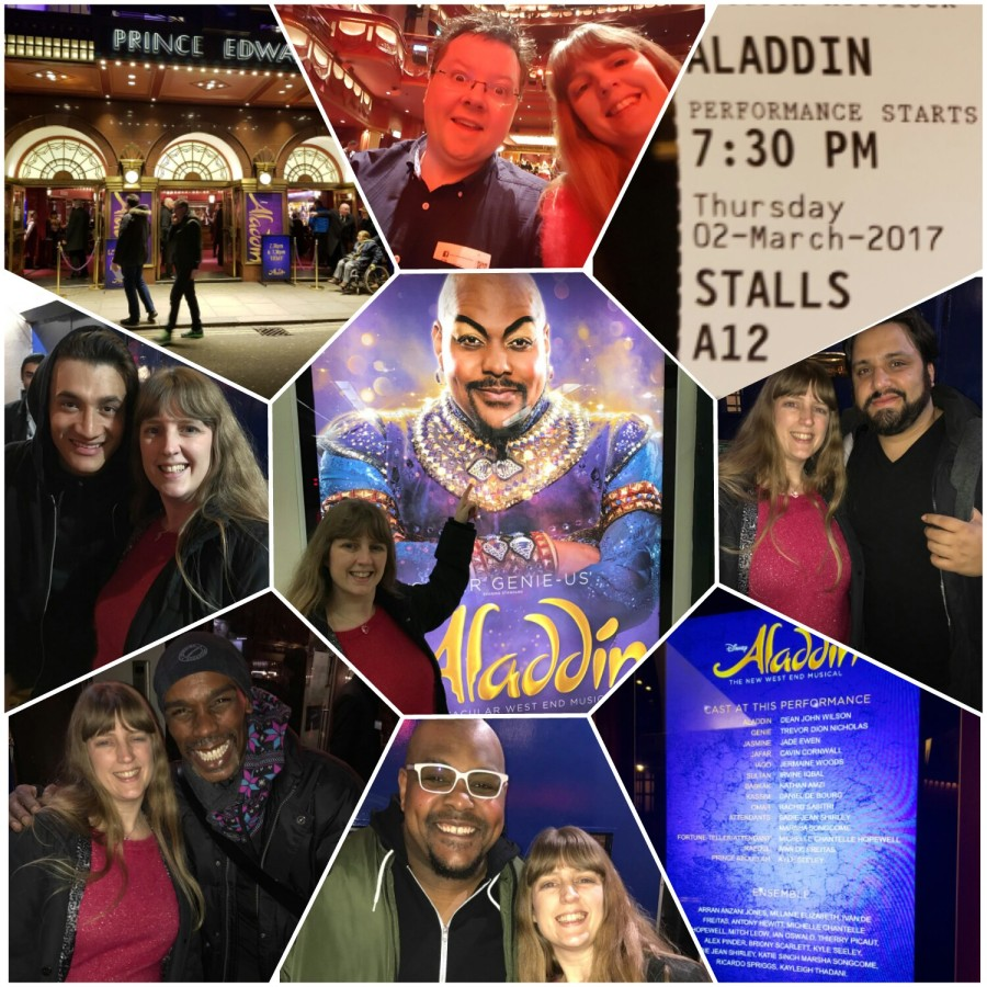 Let's fly into colour on a flying carpet – Aladdin at the Prince Edward Theatre