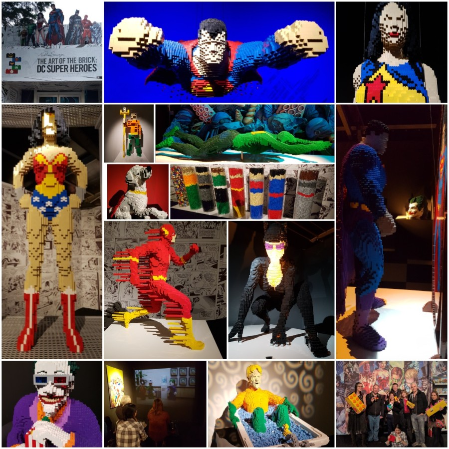 Brick by Brick –  The Art of the Brick: DC Legends