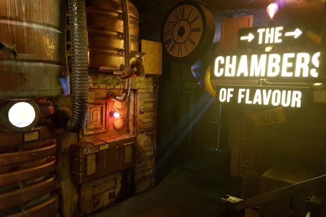 Immersive food adventourous mystery gingerline chamber for Chamber of flavours